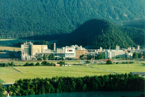 Production site at Domat/Ems
